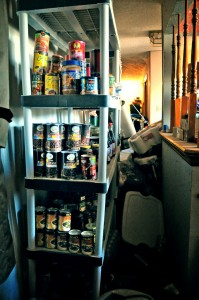 food hoarder cans expired