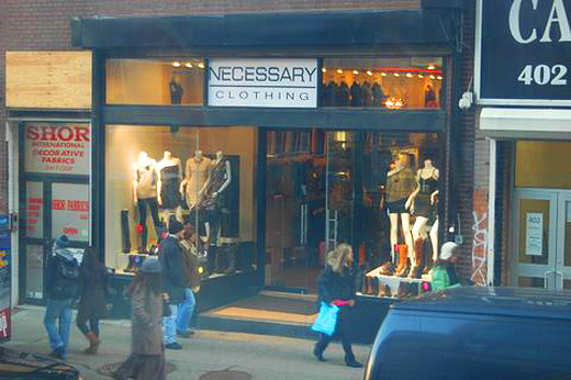 Clothing stores in soho nyc