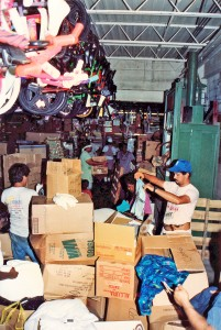boxes-of-old-donated-clothing-sorting-hurricane-andrew