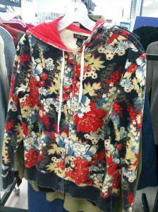 lucky brand sweatshirt floral